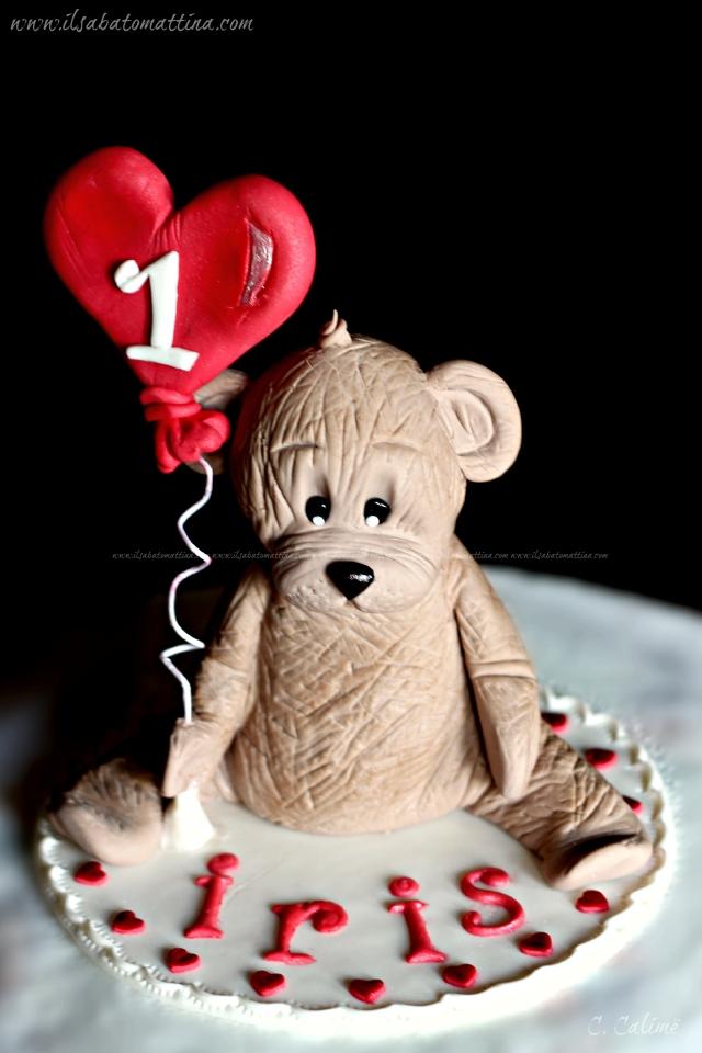 orso pasta di zucchero teddy bear gum paste